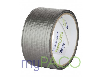myPACO  Taśma DUCT SILVER 48/10m MPT010_28sztuk